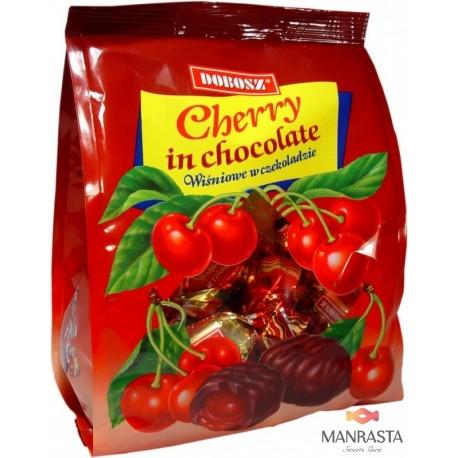 Saldainiai su vyšnių skonio įdaru CHERRY 300g.