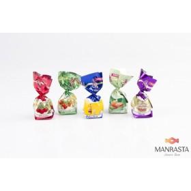Saldainių su įdarais rinkinys PRALINA  MIX  1kg
