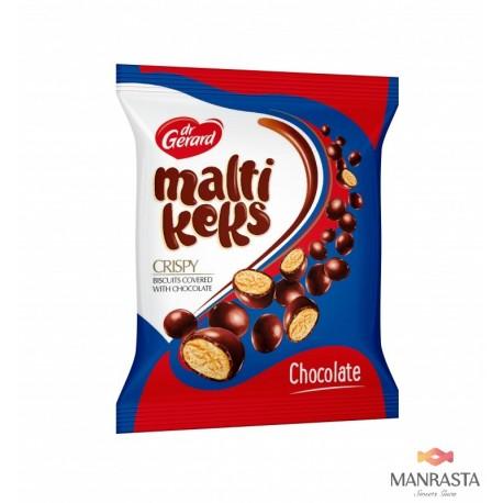 Sausainiai aplieti šokoladu MALTIKEKS CHOCOLATE 75g