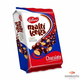 Decorated cookies MALTIKEKS CHOCOLATE 350g