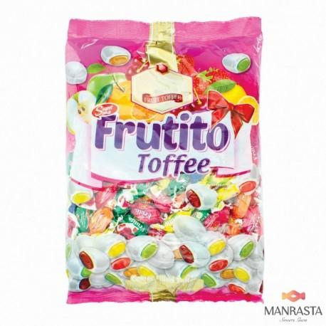 Kramtomieji saldainiai su vaisių skonio įdaru FRUTITO TOFFEE 1 kg