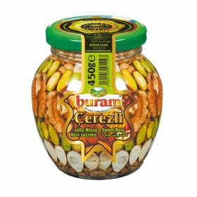 Riešutai smulkinti meduje 420 g