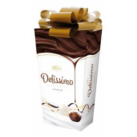 Šokoladinių saldainių su įdarais rinkinys DELISSIMO COCOA & MILK 208g