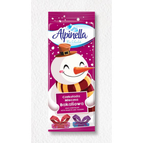 Chocolate ALPINELLA MILK 90g.