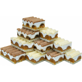 Wafers with protein cream condensed milk-chocolate flavor layer COW FANTASY 3 kg