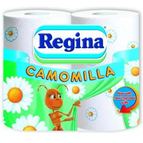 Tualetinis Popierius REGINA CAMOMILLA 3 sl., 4 vnt.