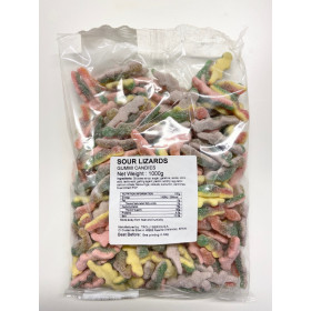 Gummies LIZARDS SOUR 1 kg