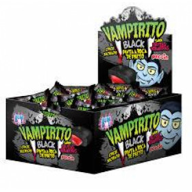 Chewing gum with filling VAMPIRITO BLACK 140g