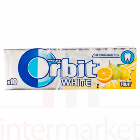 Gum ORBIT WHITE FRUIT 14g