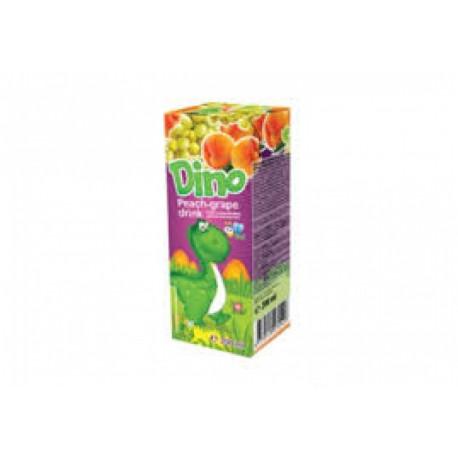 Peach and grape juice drink DINO 200ml