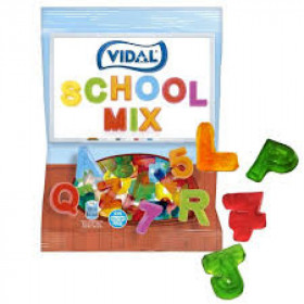 Jelly VIDAL SCHOOL MIX 100g.
