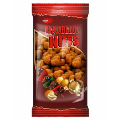 Barbecue flavoured crispy coated peanuts JĖGA 200g