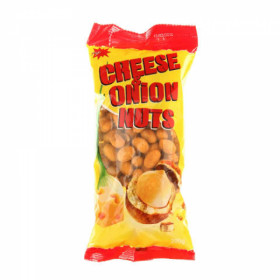 Crispy coated peanuts with cheese and onion JĖGA 200g