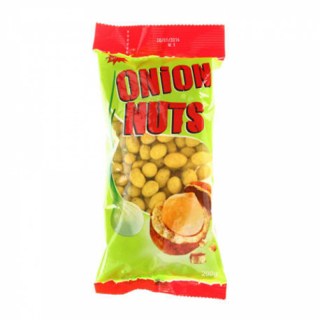 Crispy coated peanuts with onion JĖGA 200g