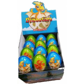 Egg with biscuit and cocoa cream DINOSTARS 15g