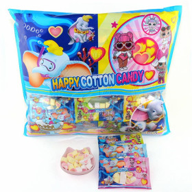 Marshmallows HAPPY COTTON CANDY 720g