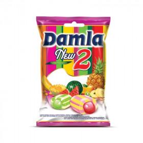 Susikramtomi tropinių vaisių skonio saldainiai DAMLA NEW 1kg