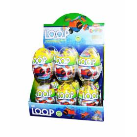 Plastikinis kiaušinis AIR LOOP 20g