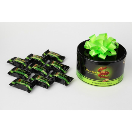 Chocolate candies with pistachio filling SILVUPLE 200g
