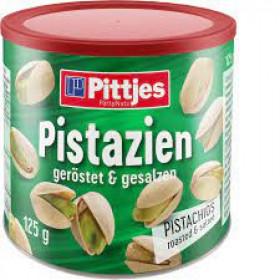 Salted pistachios PITTJES PISTAZIEN 125g