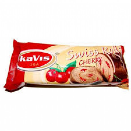 Swiss Roll with cherry filing 300g