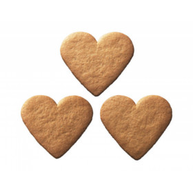 Biscuits ginger hearts GINGER SNAPS SMALL HEARTS 300g