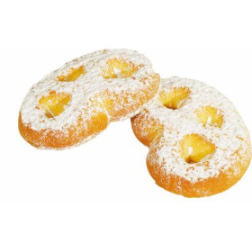 Lemon flavoured crispy cookie with powdered sugar. PRECLE 700g